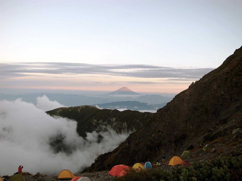 富士山(夕暮れ)