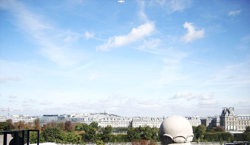 ルーブル美術館からの眺め
