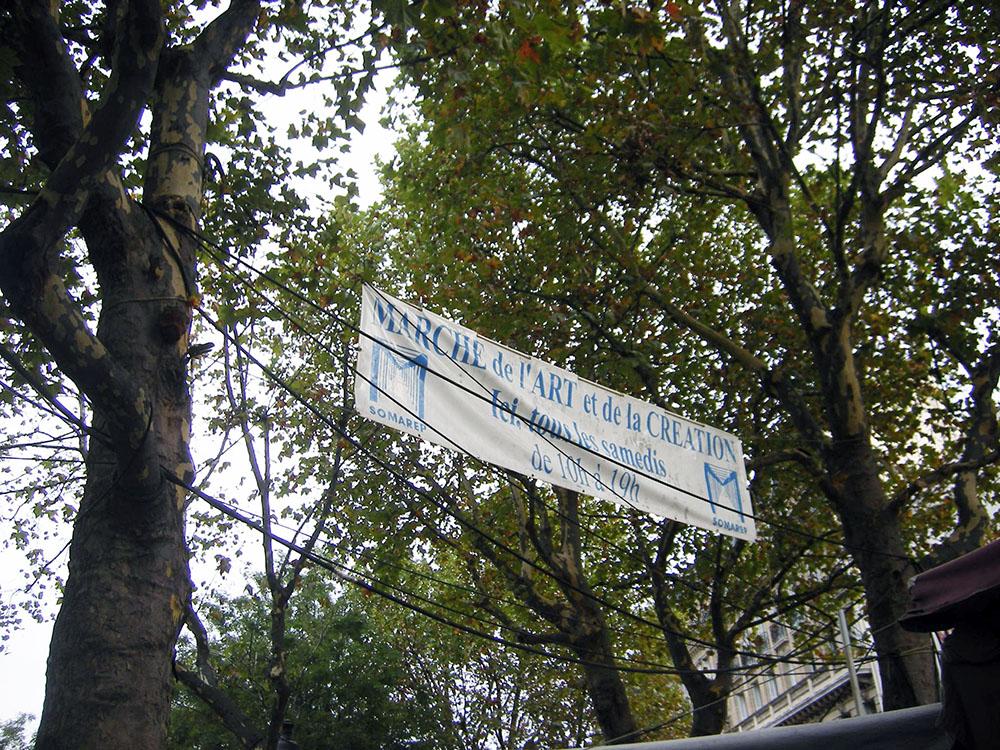 バスチーユ広場のマルシエ