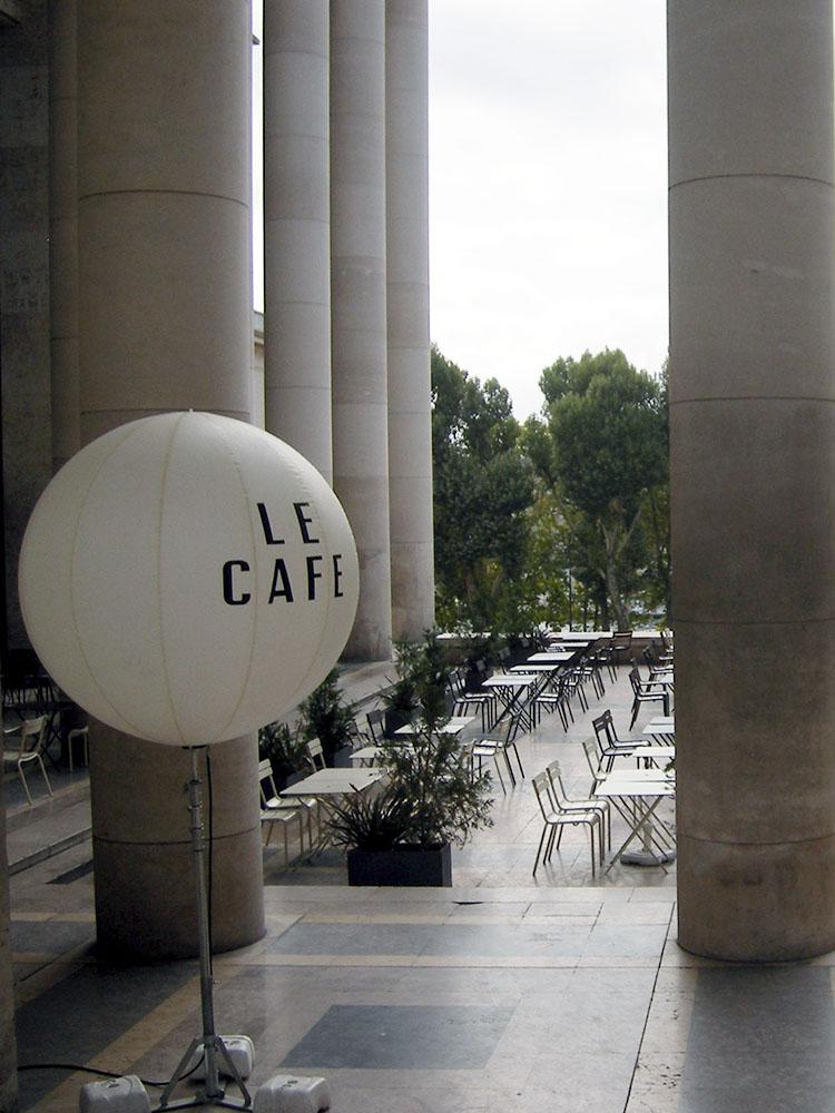 近代美術館のカフェ